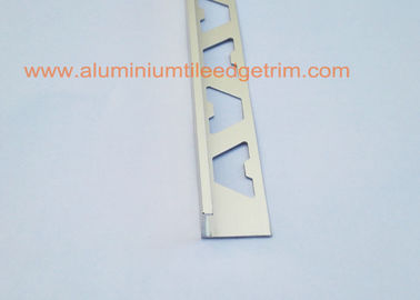Angle Type Aluminium Tile Edge Trim 12mm , Aluminum Straight Edge For Tile